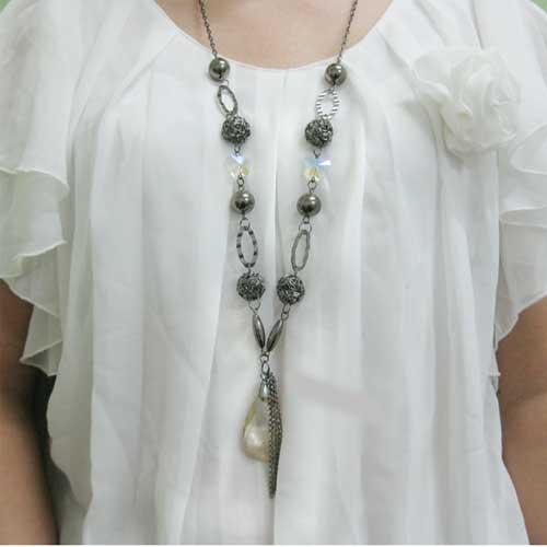 毛衣链(蝴蝶咖啡色)