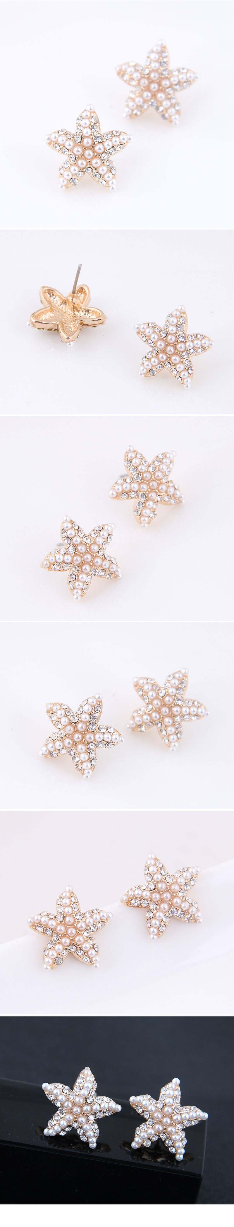 Alloy Earring Korea NHSC200075